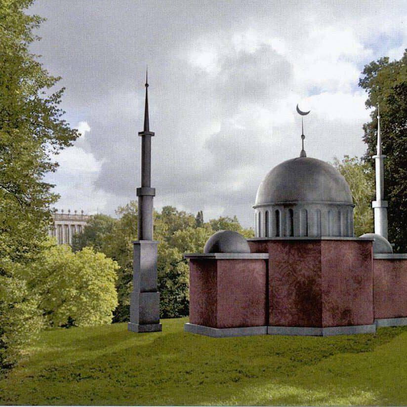 Die-Moschee-im-Bergpark-3